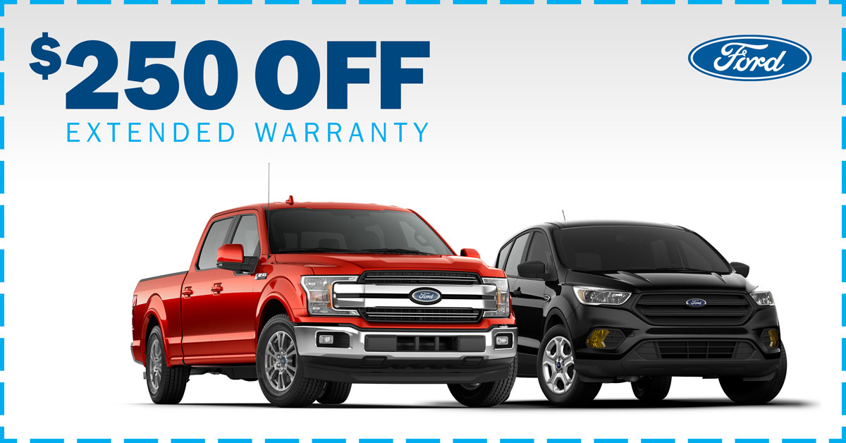 $250 OFF Extended Warranty